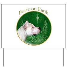 Dogo Peace Yard Sign