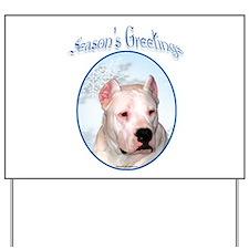 Dogo Season's Yard Sign