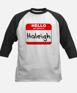 Hello my name is Haleigh Tee