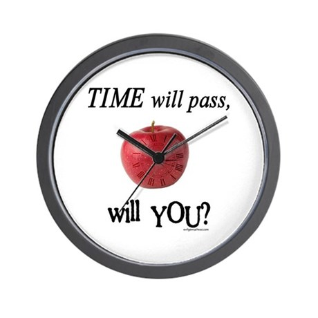 Time will pass, will you? Wall Clock