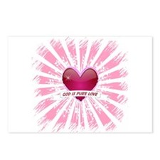 God is Pure Love Postcards (Package of 8)