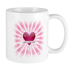 God is Pure Love Mug