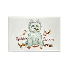 Westhighland Turkey Terrier Rectangle Magnet