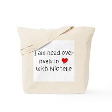 Funny I love nichelle Tote Bag