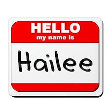 Hello my name is Hailee Mousepad