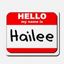 Hello my name is Hailee Mousepad