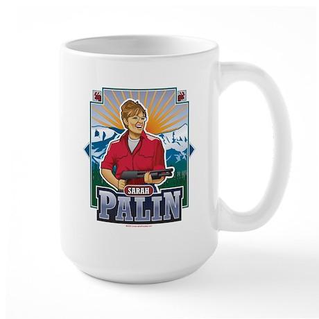 Sarah Palin, Pride of Alaska, Large Mug