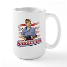 Saracuda, Gun Slinging Sarah Palin Mug