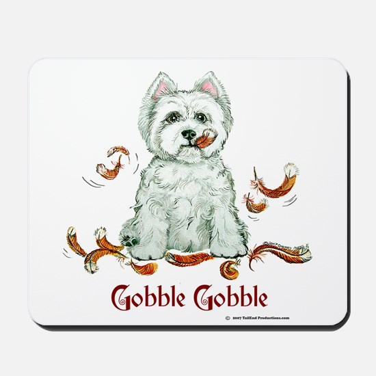 Westhighland Turkey Terrier Mousepad