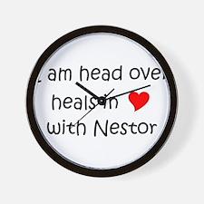 Funny Nestor Wall Clock