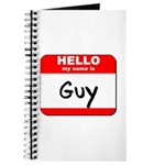Hello my name is Guy Journal