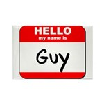 Hello my name is Guy Rectangle Magnet (10 pack)