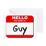 Hello my name is Guy Greeting Cards (Pk of 10)