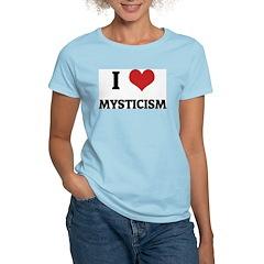 I Love Mysticism Women's Pink T-Shirt