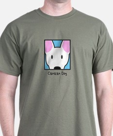 Anime White Canaan Dog T-Shirt