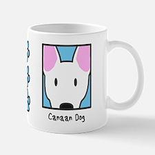 Anime White Canaan Dog Mug