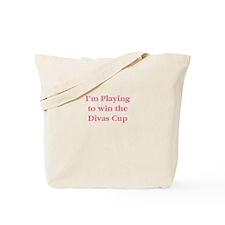 Divas Cup Tennis Tote Bag