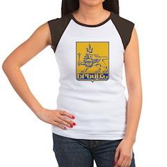 Yerevan Coat Of Arms Women's Cap Sleeve T-Shirt