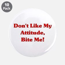 """Bite Me 3.5"""" Button (10 pack)"""