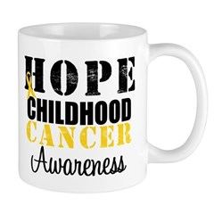 HopeChildhoodCancer2 Mug