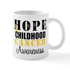 HopeChildhoodCancer2 Mug