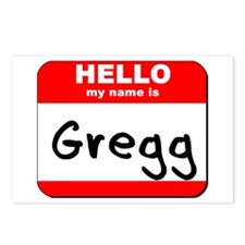 Hello my name is Gregg Postcards (Package of 8)