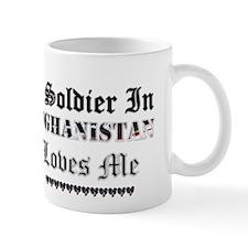 Soldier in Afghanistan Mug