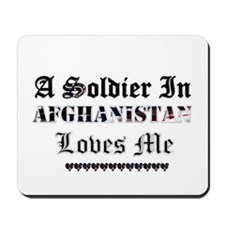 Soldier in Afghanistan Mousepad