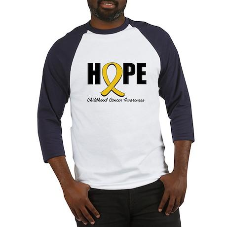 Hope Childhood Cancer Baseball Jersey