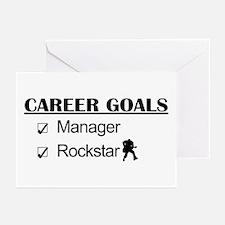 Manager Career Goals - Rockstar Greeting Cards (Pk