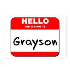 Hello my name is Grayson Postcards (Package of 8)