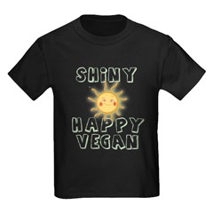Shiny Happy Vegan T