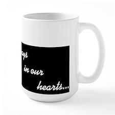 """Always in Our Hearts"" Angel Mug"