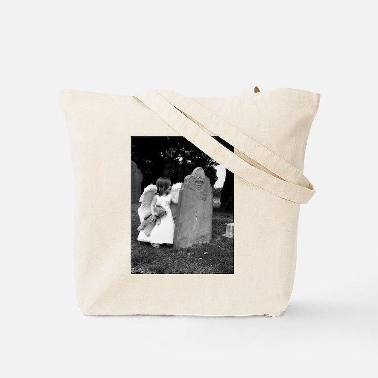 Child Angel Tote Bag