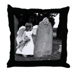 Child Angel Throw Pillow