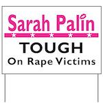 Palin Tough Yard Sign