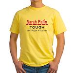 Palin Tough Yellow T-Shirt