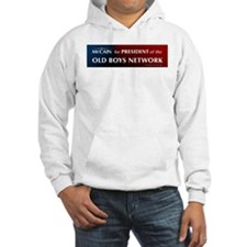 McCain for President of his old boys club Hoodie