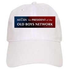 McCain for President of his old boys club Baseball Cap