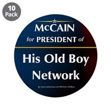 "McCain for President of his old boys club 3.5"" But"