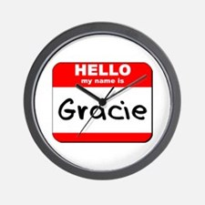 Hello my name is Gracie Wall Clock