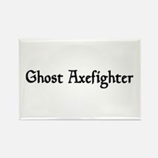 Ghost Axefighter Rectangle Magnet