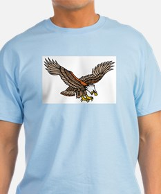 Flying Eagle Tattoo Art T-Shirt