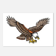 Flying Eagle Tattoo Art Postcards (Package of 8)