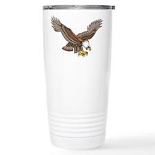 Flying Eagle Tattoo Art Travel Mug