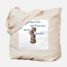 Book shopaholic Tote Bag