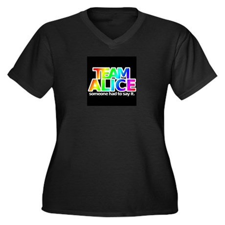 teamaliceblack Plus Size T-Shirt