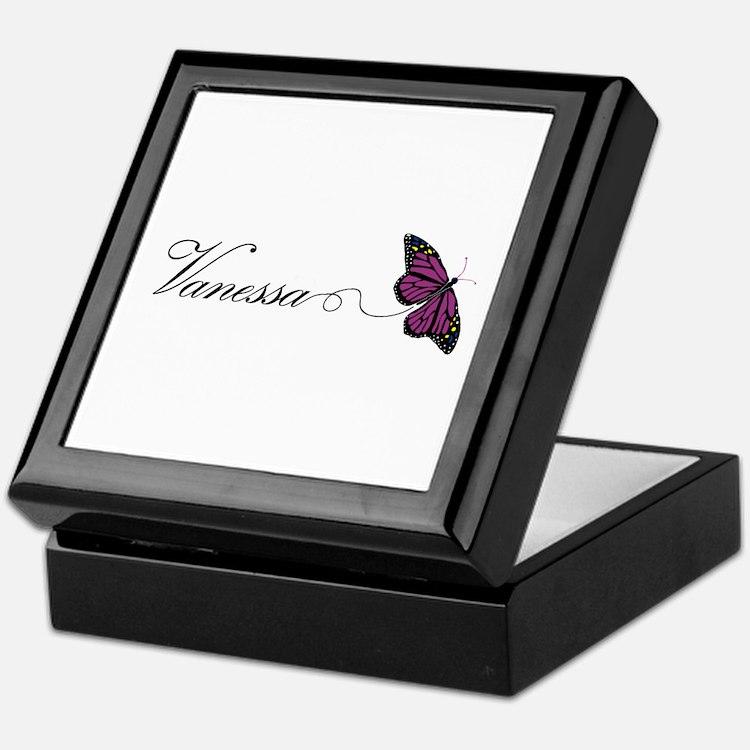 Vanessa Keepsake Box