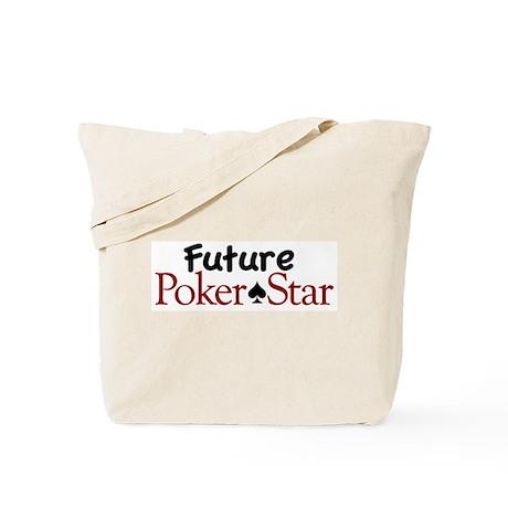 Future Poker Star Tote Bag