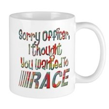 Sorry Officer Mug